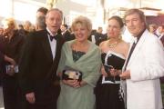 Christian Quadflieg, Ehefrau Renate, Marie Luise Marjan und Joachim Hermann Luger (v. re.)