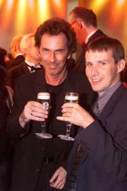 Hugo Egon Balder (li.) und Victor Worms