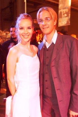 Seriendarsteller Christian Wunderlich und Silvia Leifheit