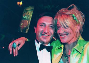 Jurymitglied Marc Conrad und Gaby Köster