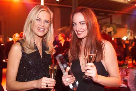 Nina Ruge und Natalia Wörner