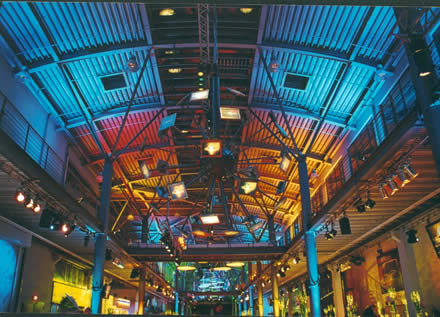 Spektakuläre Lichteffekte der Firma Procon unter der Regie von Jerry Appelt