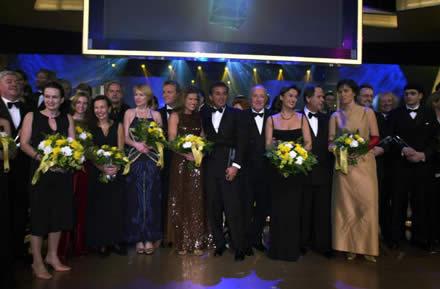 Das Finale 2001: Die Preisträger und Laudatoren