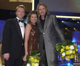 Hape Kerkeling, Anke Engelke und Thomas Gottschalk