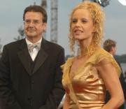RTL-Informationsdirektor Hans Mahr und seine Lebensgefährtin RTL-Punkt 12 Moderatorin Katja Burkhard