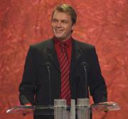 Hape Kerkeling hielt die Laudatio für die Kategorie Beste Comedy