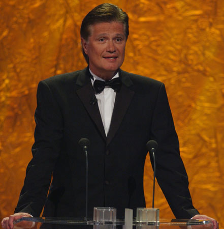 Guido Knopp hielt die Laudatio für die Kategorien Beste Dokumentation und Beste Reportage