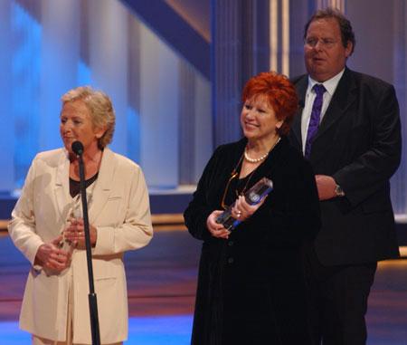 Gisela Marx und Barbara Salesch Gewinnerinnen in der Kategorie Beste tägliche Sendung