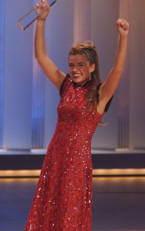 Anke Engelke Gewinnerin der Kategorie Beste Comedy