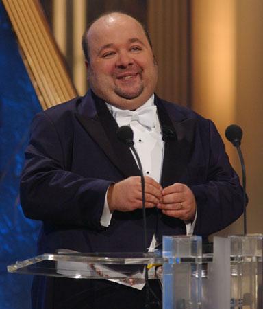 Dirk Bach, Gastgeber des Abends und Laudator für die Kategorie Beste Ausstattung