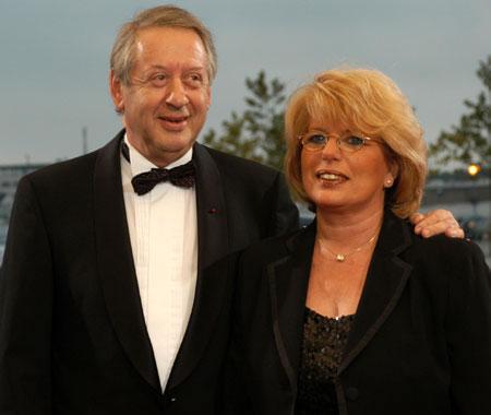 Paul Spiegel und seine Ehefrau Gisellé
