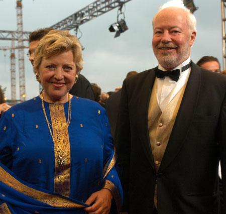 Die Lindenstraßen-Stars Marie-Luise Marjan und Bill Mockridge