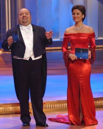 Dirk Bach und Sandra Maischberger
