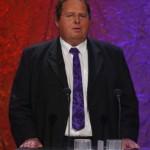 Ottfried Fischer hielt die Laudatio für die Kategorie Beste tägliche Sendung