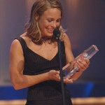 Überglücklich: Anneke Kim Sarnau Gewinnerin der Kategorie Beste Schauspielerin Hauptrolle