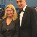 Laudator Gottfried John und seine Ehefrau Brigitte
