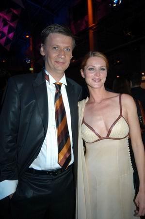 Günther Jauch und Esther Schweins