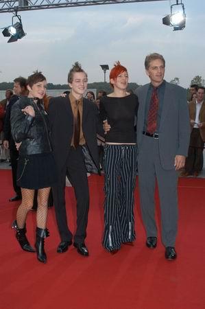 Walter Sittler mit seinen Kindern