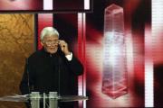 Hält die Ehrenpreis-Laudatio: Joachim Fuchsberger