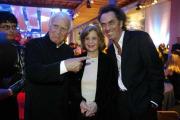 Joachim Fuchsberger, Ehefrau Gundula Korte und Hugo Egon Balder