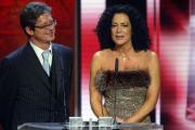 Barbara Wussow und Jochen Schröder bei ihrer Laudatio für Beste Serie
