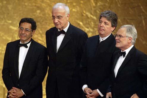 Die Stifter des DEUTSCHEN FERNSEHPREISES 2004