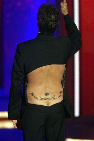 Stolzer Tattooträger: Ingolf Lück