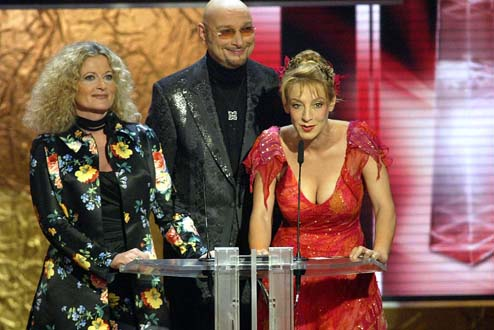 Laudatio Beste tägliche Sendung: Sissi Perlinger, Ralph Morgenstern und Susanne Fröhlich (v. re.)