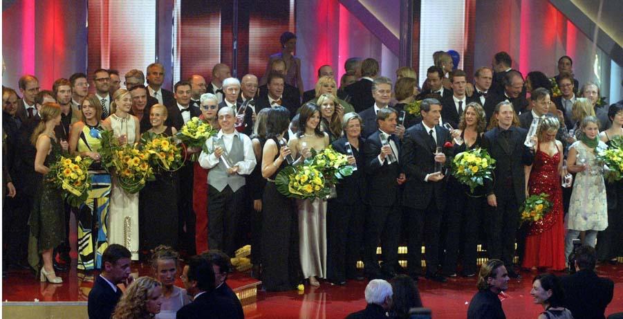 Alle Preisträger und Laudatoren