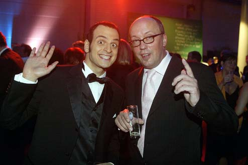 Comedians unter sich: Kaya Yanar und Hans-Werner Olm
