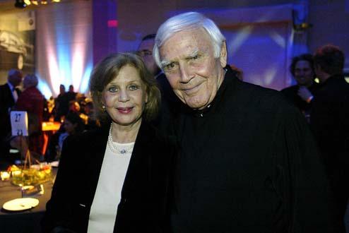 Joachim Fuchsberger und Ehefrau Gundula Korte