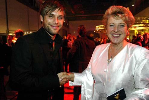 Marie-Luise Marjan und Ole Tillmanns