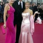 Nina Bott (li.) und Susan Sideropoulos haben sich Kai Pflaume geangelt