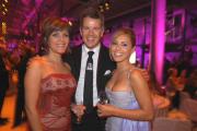 RTL-Moderatoren unter sich: Birgit Schrowange (li.), Markus Lanz und Nazan Eckes