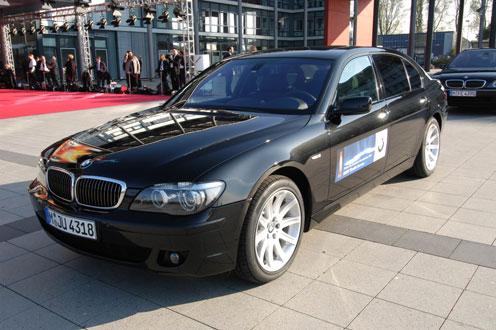 VIP-Shuttle-Service von BMW