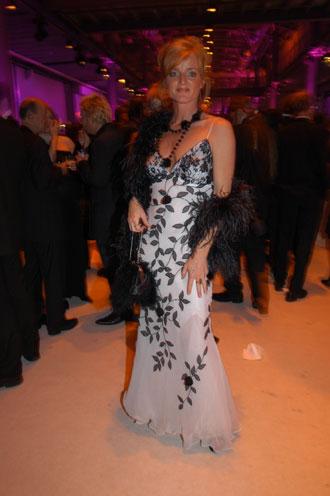 Nina Petri beim Gala-Empfang