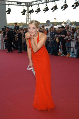 Lady in Red: Schauspielerin Tanja Wedhorn