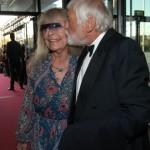Dietmar Schönherr mit seiner Frau Vivi Bach