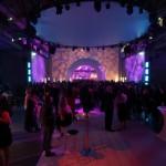 Die Disco der Gala-Party