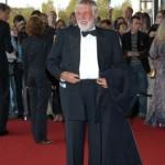 Ehrenpreisträger Dietmar Schönherr auf dem roten Teppich