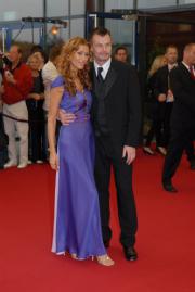 Yasmina Filali und Thomas Helmer