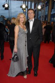 RTL-Moderatorin Katja Burkard und Hans Mahr