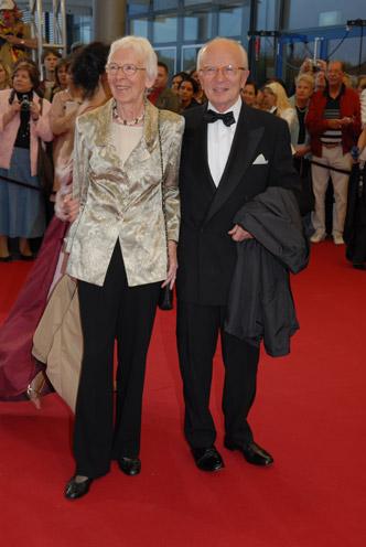 Auf dem Weg zum Ehrenpreis: Friedrich Nowottny und seine Ehefrau Gisela
