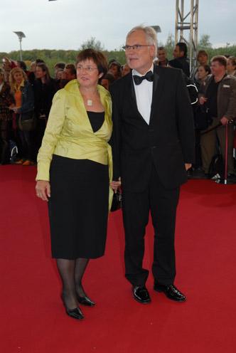 ZDF-Intendant Markus Schächter mit Ehefrau