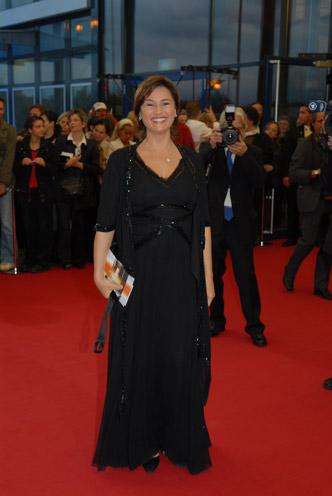 Jurymitglied und Moderatorin Sandra Maischberger