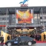 Vorfahrt der Gäste zur achten Verleihung des Deutschen Fernsehpreises