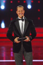 Der Sonderpreis für Michael Schumacher.  Foto: RTL / Stefan Menne