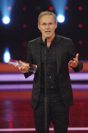 "Reinhold Beckmann in der Kategorie ""Beste Moderation Information"". Foto: RTL / Stefan Menne"