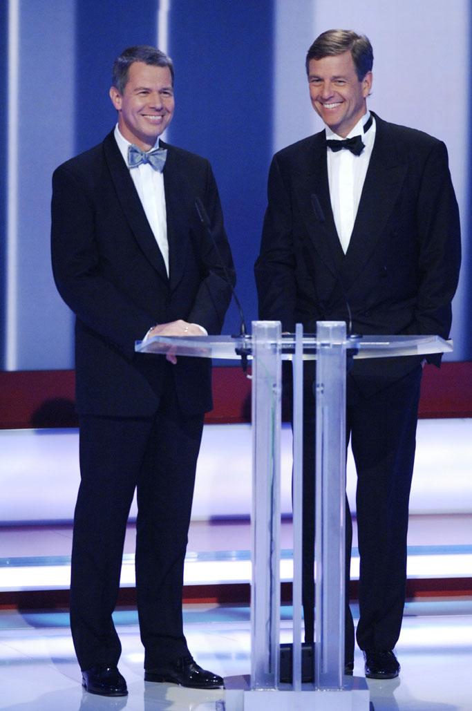 Paten Peter Kloeppel und Claus Kleber (Beste Moderation Information: Auslandsreporter)