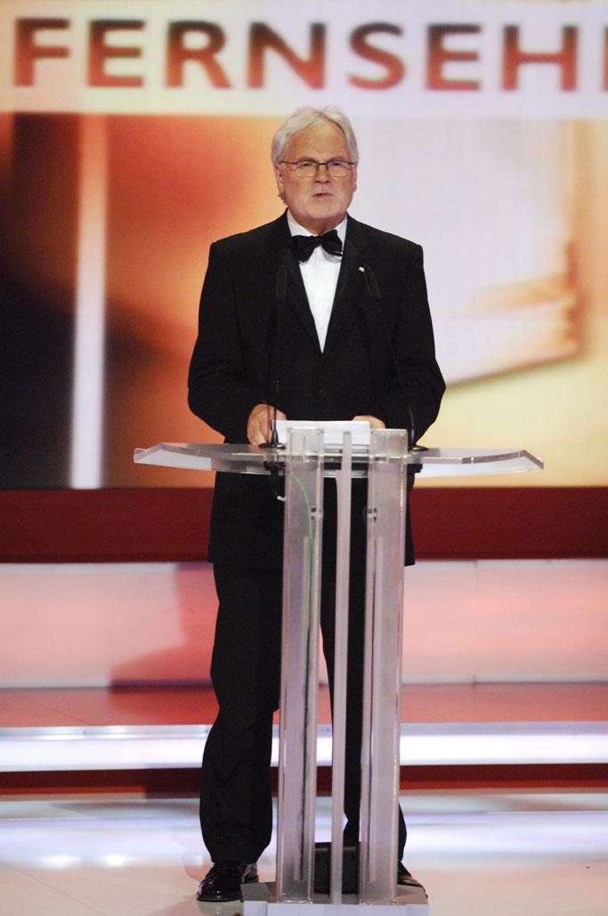 Prof. Markus Schächter, ZDF-Intendant und Vorsitzender der Stifter
